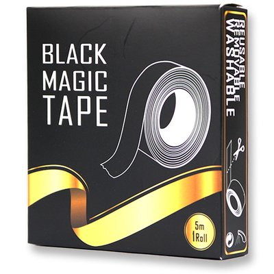 Black Magic Tape - Work Surfaces Tape - 5 meters roll