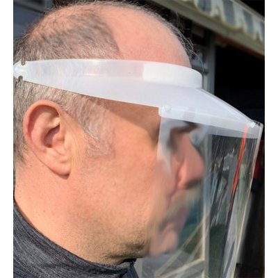 Face shield - spit shield type 2