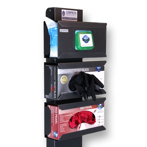 CONPROTA - Glove box holder for stand