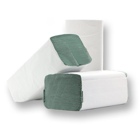 CONPROTA - Folded Towels V-fold - 25 x 23 cm - 1-ply - Green